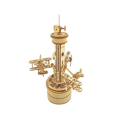 Music Box Airplane Control Tower