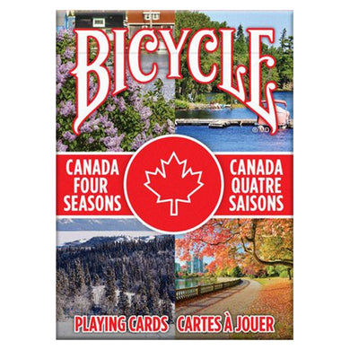 Canada Four Seasons Playing Cards
