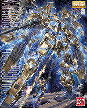 Load image into Gallery viewer, MG 1/100 Unicorn Phenex 03 Gold Plated