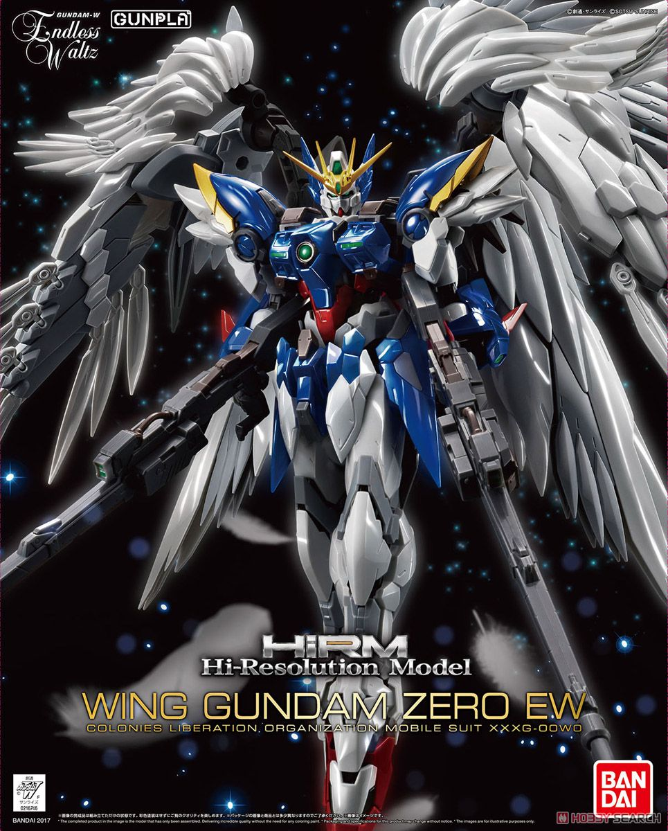Hi-Resolution 1/100 Wing Gundam Zero EW