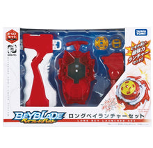 Load image into Gallery viewer, Beyblade Burst B-123 Long Bey Launcher Set Cho-Z Layer System