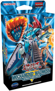 YU-GI-OH STRUCTURE DECK MECHANIZED MADNESS