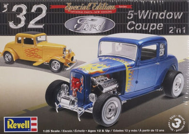 1/25 1932 Ford 5 Window Coupe