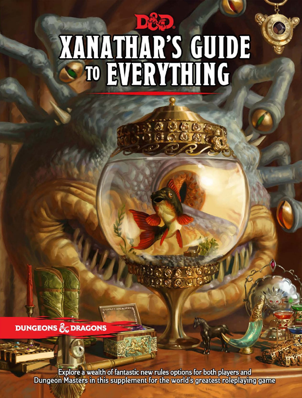 D&D 5.0 Xanathar's Guide to Everything