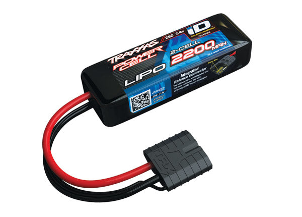 2200mAh 7.4v 2-Cell 25C LiPo Battery (2820X)
