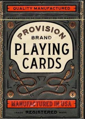 Provision Brand Theory 11 Playing Cards