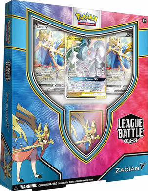 Pokemon box Zacian V League Battle Deck