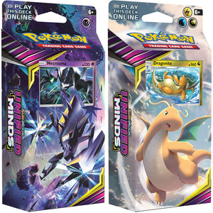 POKEMON THEME DECKS UNIFIED MINDS