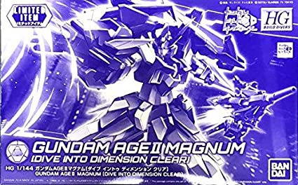 HGBD 1/144 Gundam Age II Magnum (Dive Into Dimension Clear) (Convention Exclusive)
