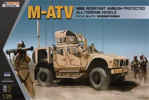 1/35 M-ATV Mine Resistant Ambush Protected All-Terrain Vehicle