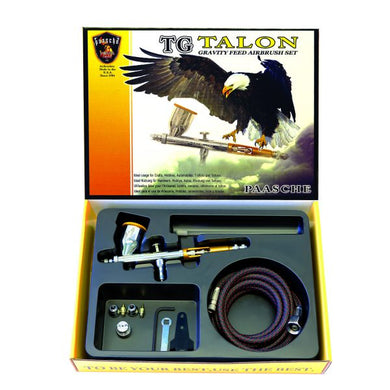 Paasche TG Talon Gravity Feed Airbrush Set