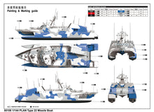 Load image into Gallery viewer, 1/144 PLAN Type 2 Missile Boat