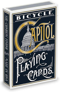 Capitol (Black) Playing Cards