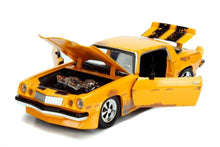 Load image into Gallery viewer, 1:24 Transformers Bumblebee 1977 Chevy Camaro