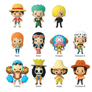 One Piece Figural Keyring
