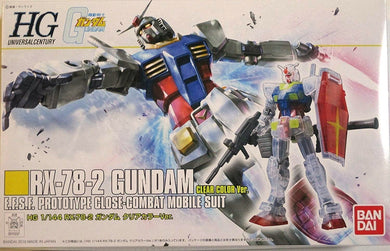 HG 1/144 RX-78-2 GUNDAM CLEAR COLOR VER (CONVENTION EXCLUSIVE)