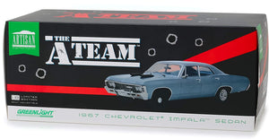 1/18 A-TEAM 1967 Chevy Impala Sedan