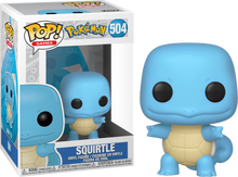 Load image into Gallery viewer, Pokemon Squirtle Funko Pop
