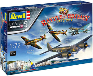 1/72 Battle of Britain Gift Set (4 Planes)