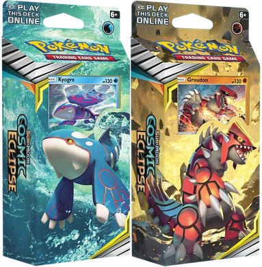 POKEMON THEME DECKS COSMIC ECLIPSE