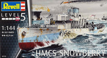 Load image into Gallery viewer, 1/144 HMCS Snowberry Flower Class Corvette