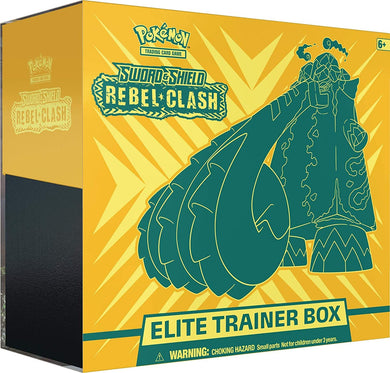 Pokemon Elite Trainer Box Rebel Clash
