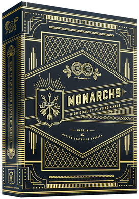 Monarch (Black) Theory 11 Playing Cards