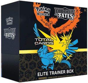 Pokemon Elite Trainer Box Hidden Fates