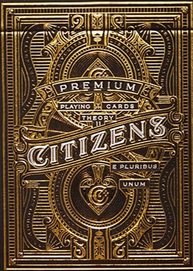 Citizens Thoery 11 Playing Cards