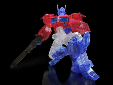 Transformers Furai Optimus Primer IDW Clear Ver