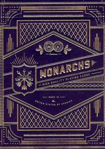 Monarch (Purple) Theory 11 Playing Cards