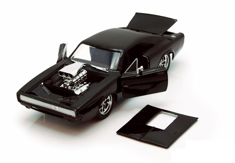 1/24 Fast & Furious Dom's 1970 Dodge Charger Gloss Black