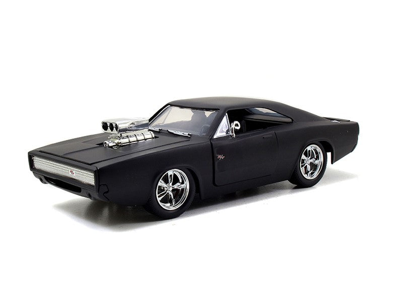 1/24 Fast & Furious Dom's Dodge Charger Matte Black