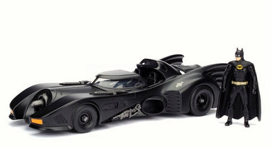 1:24 1989 MOVIE BATMOBILE W FIGURE