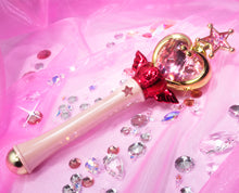 Load image into Gallery viewer, Sailor Moon Proplica Pink Moon Stick