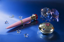 Load image into Gallery viewer, Sailor Moon Proplica Transformation Brooch & Disguise Pen set