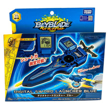 Load image into Gallery viewer, Beyblade Burst B-93 Digital Sword Launcher Blue