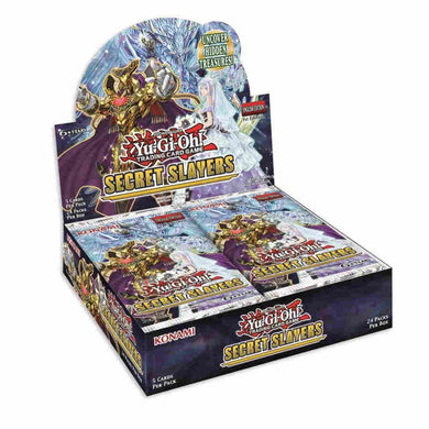 YU-GI-OH BOOSTER SECRET SLAYERS BOOSTERS