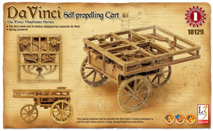 Da Vinci Self Propelling Cart Model Kit