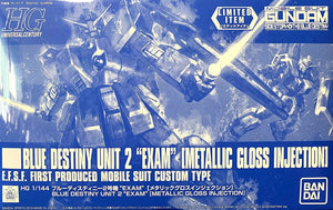 HGUC 1/144 BLUE DESTINY UNIT 2 EXAM (METALLIC GLOSS INJECTION) (CONVENTION EXCLUSIVE)