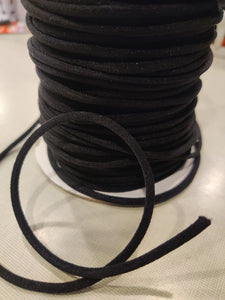 5MM Elastic Cord High Quality (black) - Free Shipping