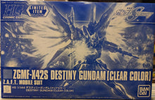 Load image into Gallery viewer, HGCE 1/144 ZGMF-X42S DESTINY GUNDAM (CLEAR PARTS) (CONVENTION EXCLUSIVE)