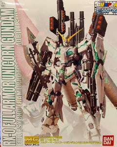 MG 1/100 Full Armour Unicorn Ver.ka Mechanical Clear (Convention Exclusive)