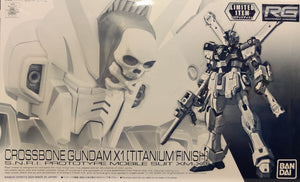 RG 1/144 CROSSBONE GUNDAM X1 TITANIUM FINISH (CONVENTION EXCLUSIVE)