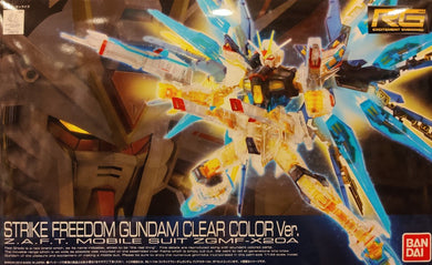 RG 1/144 STRIKE FREEDOM CLEAR COLOR (CONVENTION EXCLUSIVE)