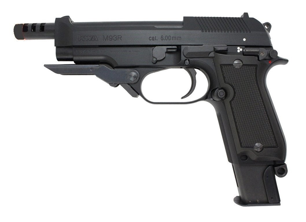 Green Gas M93RII pistol (Full & Semi Auto) (101-00182)