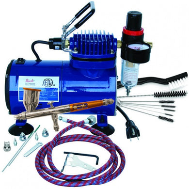Paasche TG-100D Airbrush Talon and Compressor Set