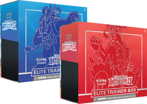 Pokemon Elite Trainer Box Sword and Shield Battle Styles