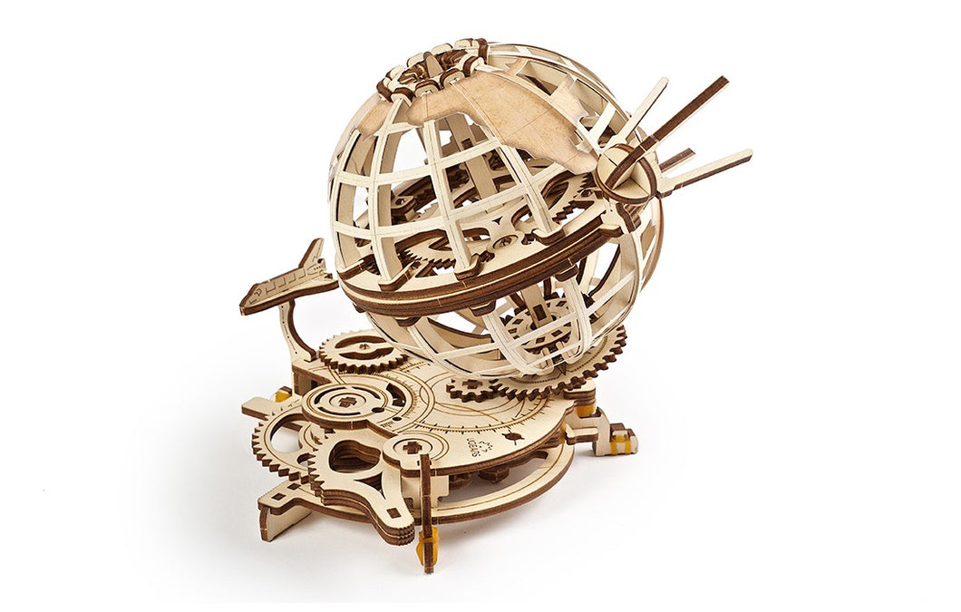 Wooden Globus Mechanical Model