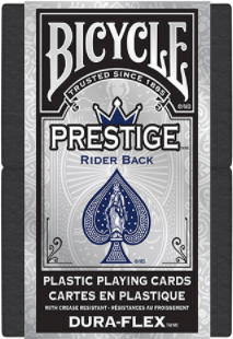 Prestige Rider Back Blue Playing Cards
